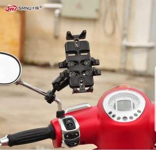 SMNU Vespa mount phone holder set