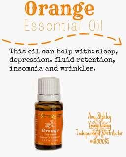 Orange Young Living Essential Oils
