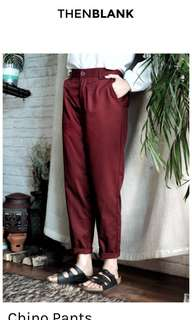 ThenBlank Then Blank Chino Pants