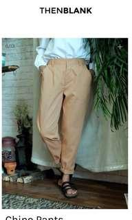 Then Blank ThenBlack Chino Pants