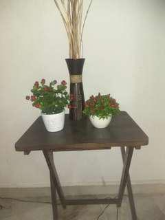 Home decor, flower table all 4 items