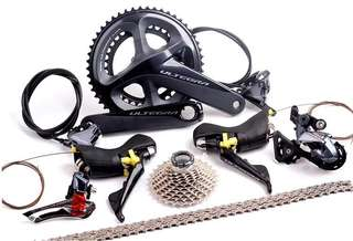 Shimano Ultegra R8020 Hydraulic Disc Brake Groupset