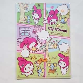 Sanrio My Melody Plastic File Folder