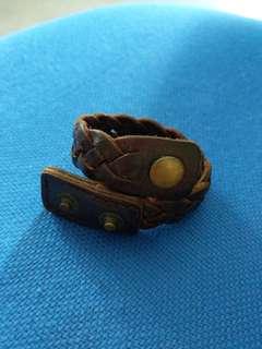 Leather Interwoven Bracelet