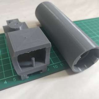 🚚 Awesome 3D Print Nerf Mod Scope Barrel Extension Silencer
