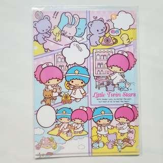 Sanrio Little Twin Stars Plastic File Folder