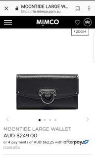 Brand new genuine mimco unwanted gift