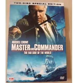 master of the commander  軍天勇將:戰海豪情 DVD