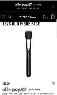 Brand new mac brush