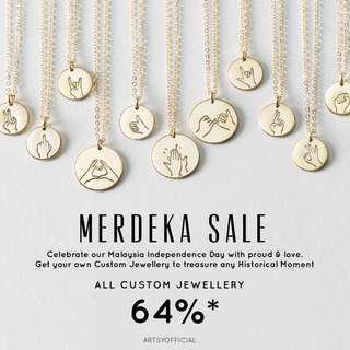 MERDEKA SALE 🇲🇾 | FREE SHIPPING SM SS | 18K GOLD SWAROVSKI | SALE UNTIL 31 AUGUST 2018 | ORDER CLOSE