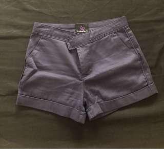 Authentic Plains & Prints Navy Blue Shorts