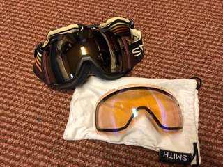 Smith Goggles (2 lens)