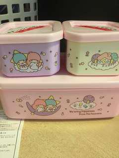 Little Twin Stars 盒 食物盒