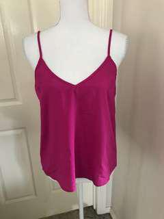 Pink top size 8