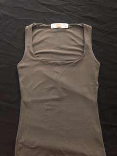 Authentic Zara Gray Sleeveless Top