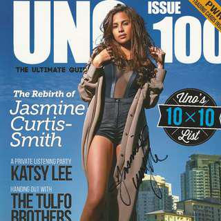 Autographed UNO Philippines # 100 Vol. XII Jasmine Curtis - w/ Signed Poster