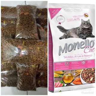 Makanan Kucing Monello Repack 400gr