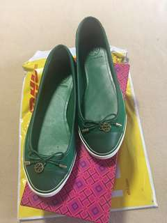 100% Authentic Tory Burch Slip Ons