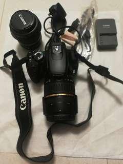 Canon 400D相機+Canon EW-60CEFS18-55mm