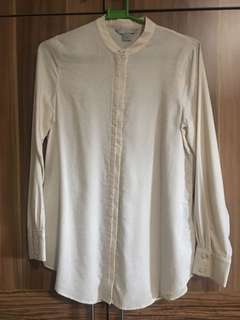 H&M Chinese Collar Blouse