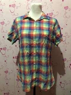 Uniqlo Checkered Blouse