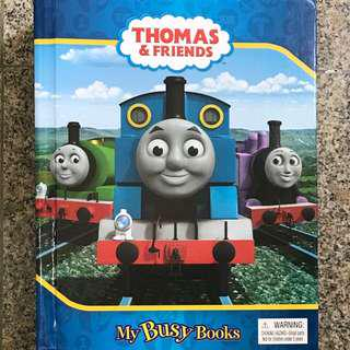 Thomas and friends busy box