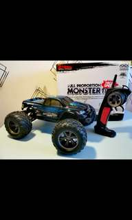 (P.O.)42km/H Rc Car 2.4G 1:12 1/12 Scale Car Supersonic Monster Truck Off-Road Vehicle Buggy