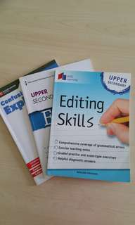 English Assessment Books on Editing and Grammar