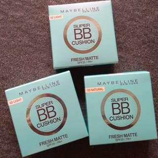 Maybelline Super BB Cushion Fresh Matte SPF25/ PA+