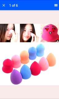 Free NM*1/3/6/10 pcs Pro Beauty Cosmetic Blender Foundation Puff Teardrop/Gourd Sponges applicator (Can choose)*instock*