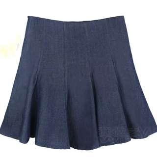 [NEW] Denim Skirt