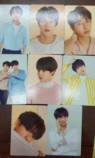 [INDIVIDUAL MEMBER SET] BTS LOVE YOURSELF TOUR MD MINI PHOTO CARD