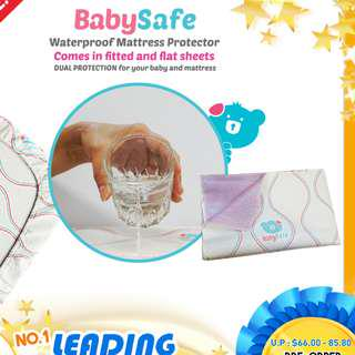 🚚 Baby safe waterproof mattress protector