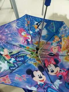 香港迪士尼12周年自動縮骨傘HK Disneyland Umbrella