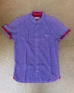 Ted Baker button down polo