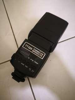 Godox Speedlite TT520 Manual Flash Canon Mount