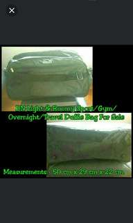 TRAVEL/SPORTS - BN Light & Roomy Sport/Gym/Overnight/Travel Duffle Bag For Sale