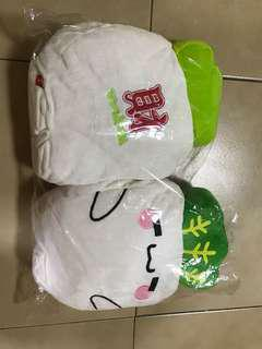 Cute radish arm warmer soft toys