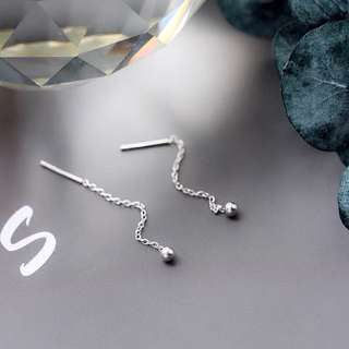 925純銀 耳線 耳針