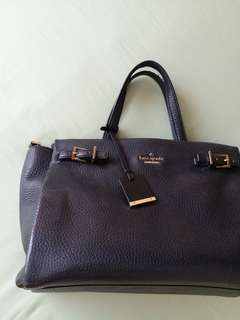 Authentic Kate Spade Hand Bag medium (Navy Blue)
