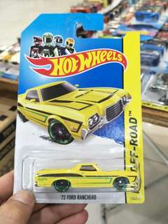 CPL - 72 Ford ranchero yellow