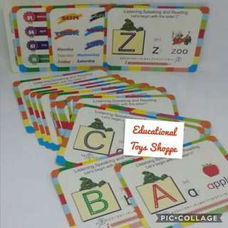 Flash Cards with Cute Design
