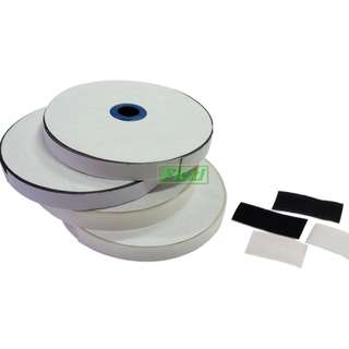 25mm x 25m Velcro with Adhesive