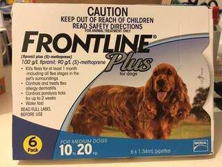 兩盒 Frontline Plus for 10-20kgs 🐶 2 boxes (1盒6支裝) 蝕本清貨大減價