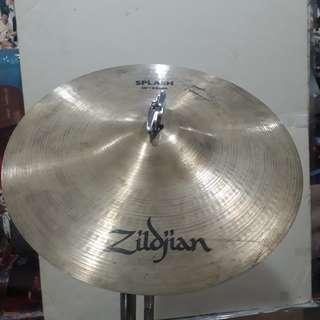 Zildjain 10 inches splash bell cymbal no stand