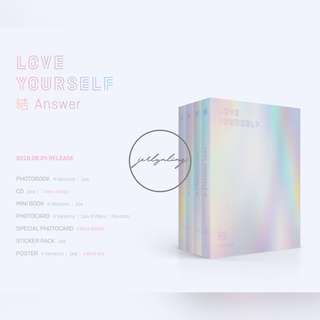 [PREORDER] BTS - Love Yourself 結 Answer (S/ E/ L/ F/ Set)