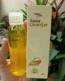 Kulit wajah bersih
