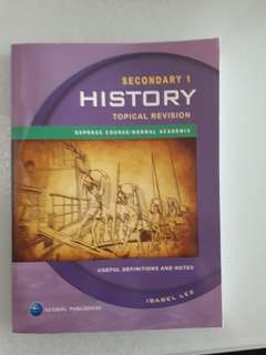 History for secondary 1