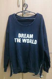 """Dream The World"" Black Top"