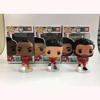 Funko Pop Liverpool Players